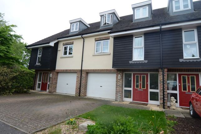 Thumbnail Terraced house to rent in Scholars Walk, Farnborough