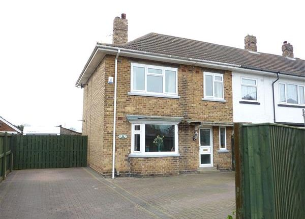 Thumbnail End terrace house for sale in Lady Frances Crescent, Cleethorpes