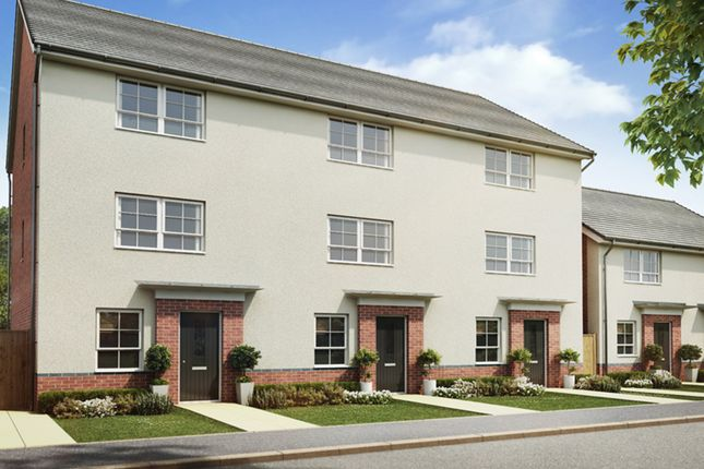 """Thumbnail Terraced house for sale in """"Hawley"""" at Sutton Way, Whitby, Ellesmere Port"""