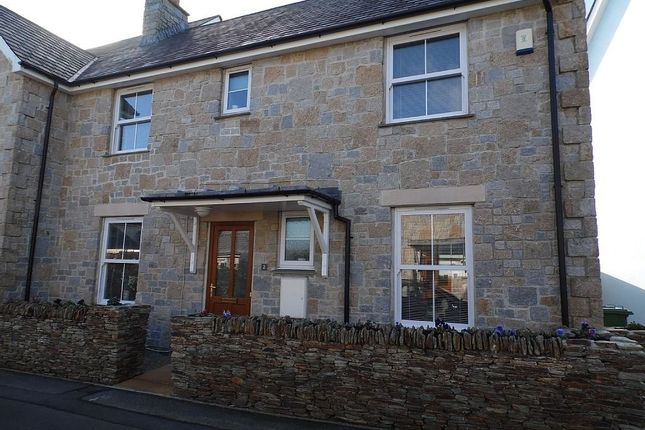 Thumbnail Semi-detached house to rent in Headland Road, Carbis Bay, St. Ives