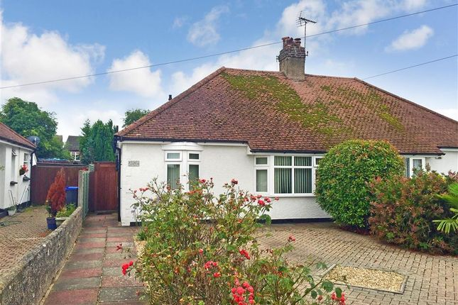Thumbnail Semi-detached bungalow for sale in Sunningdale Road, Worthing, West Sussex