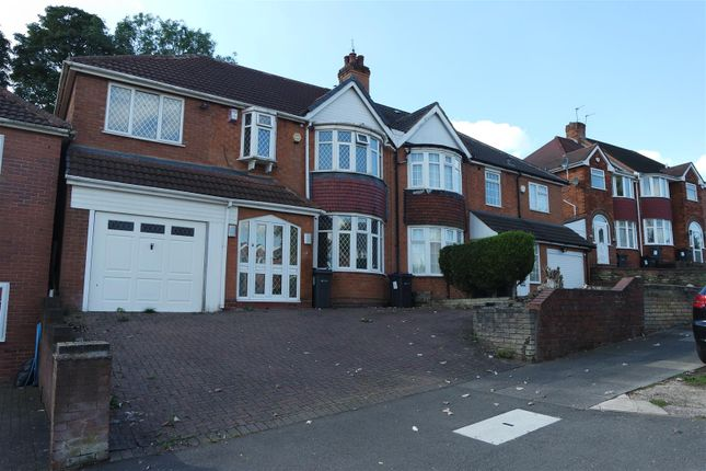 Thumbnail Semi-detached house for sale in Leopold Avenue, Handsworth Wood
