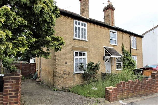 Thumbnail End terrace house for sale in Forest Road, Loughton, Essex