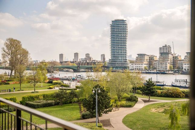 Thumbnail Flat to rent in Imperial Crescent, Imperial Wharf, London