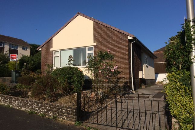 Thumbnail Detached bungalow for sale in Storrs Close, Bovey Tracey, Newton Abbot