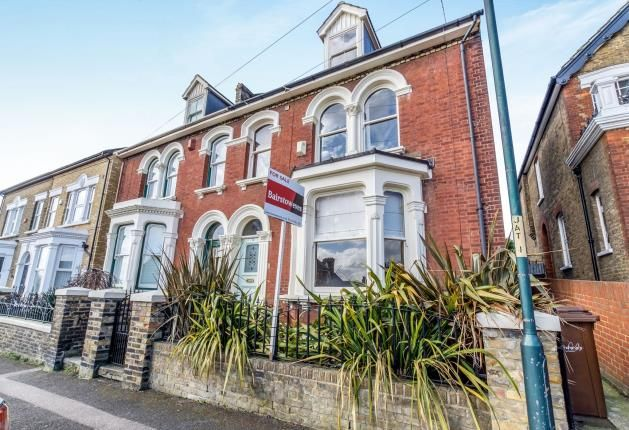Thumbnail Semi-detached house for sale in Jersey Road, Rochester, Kent