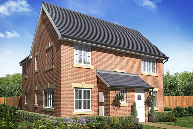"Thumbnail Detached house for sale in ""Alderney"" at Morgan Drive, Whitworth, Spennymoor"