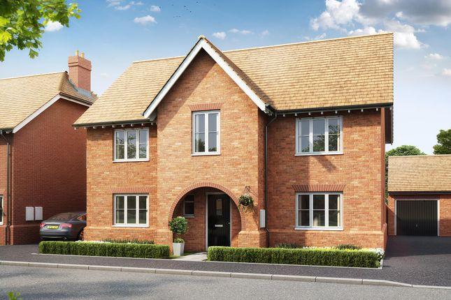 "Thumbnail Detached house for sale in ""Winstone"" at Gimson Crescent, Tadpole Garden Village, Swindon"