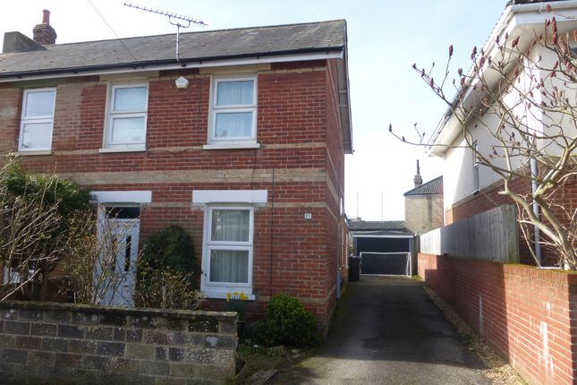 Thumbnail Semi-detached house for sale in Portman Road, Boscombe, Bournemouth