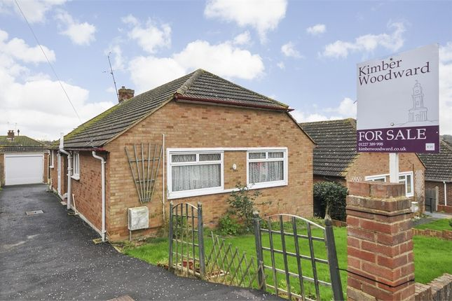 Thumbnail Detached bungalow for sale in Mill View Road, Herne, Herne Bay, Kent