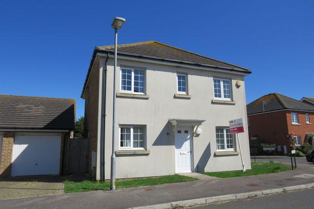 Thumbnail Detached house for sale in Flint Way, Peacehaven