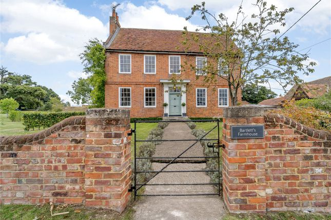 Thumbnail Detached house for sale in Swallowfield Road, Arborfield, Reading