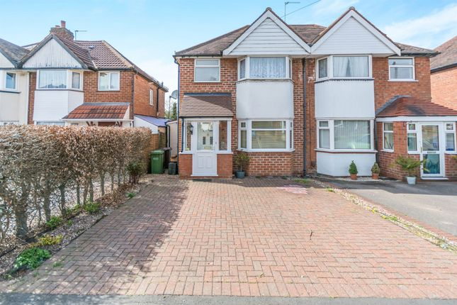 Thumbnail Semi-detached house for sale in Wiseacre Croft, Shirley, Solihull