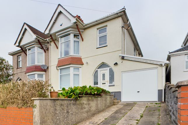 3 bed semi-detached house to rent in Lon Mefus, Sketty, Swansea SA2