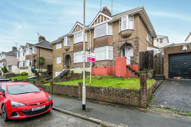 Thumbnail Semi-detached house for sale in Fredington Grove, Plymouth