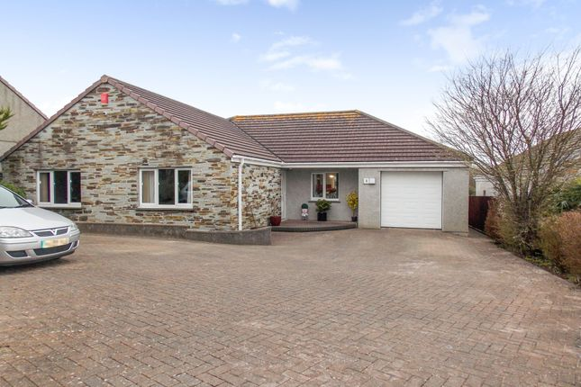 Thumbnail Detached bungalow for sale in Crembling Well, Barncoose, Redruth