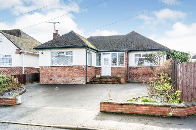 Thumbnail Detached bungalow for sale in Grange Mount, West Kirby, Wirral