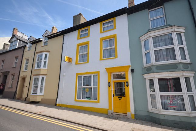 Thumbnail Terraced house for sale in Bridge Street, Aberystwyth