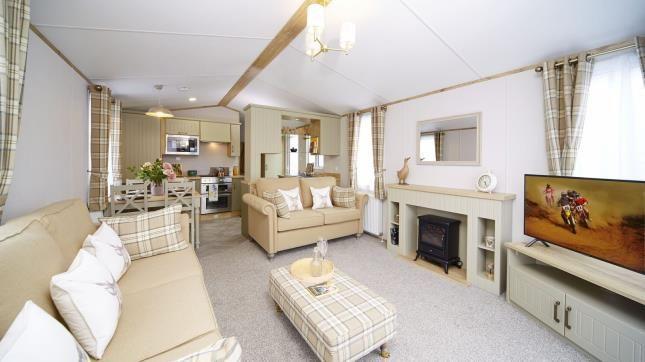 Living Area of Ty Gwyn Park, Abergele, Towyn, Abergele LL22