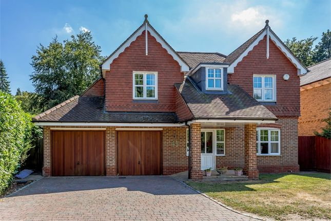 Thumbnail Detached house for sale in Elvetham Road, Fleet, Hampshire