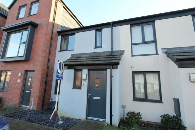Thumbnail Terraced house for sale in Portland Drive, Barry