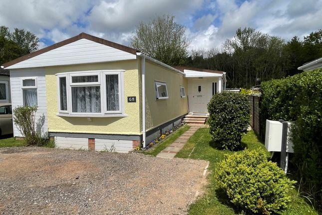 Mobile/park home for sale in Allington Lane, West End, Southampton