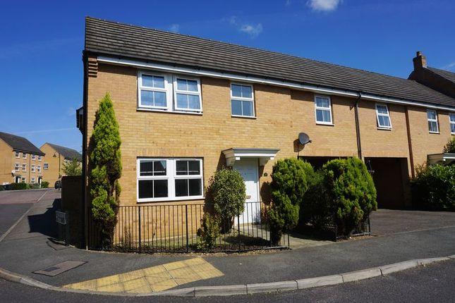 Thumbnail Link-detached house to rent in Leaf Avenue, Hampton Hargate, Peterborough
