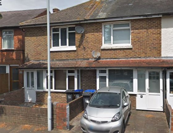 Thumbnail End terrace house to rent in Leigh Road, Broadwater, Worthing