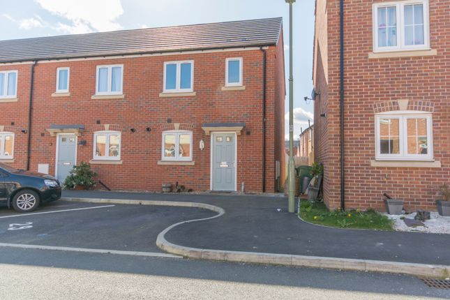 Thumbnail End terrace house for sale in Henry Robertson Drive, Gobowen, Oswestry