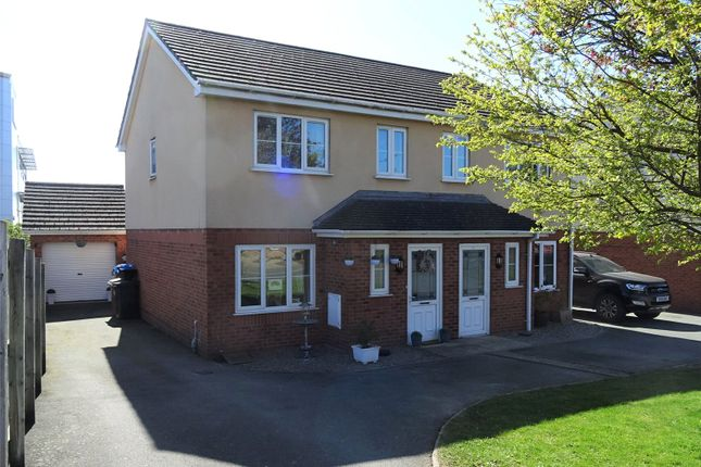 Semi-detached house for sale in College Road, Oswestry, Shropshire