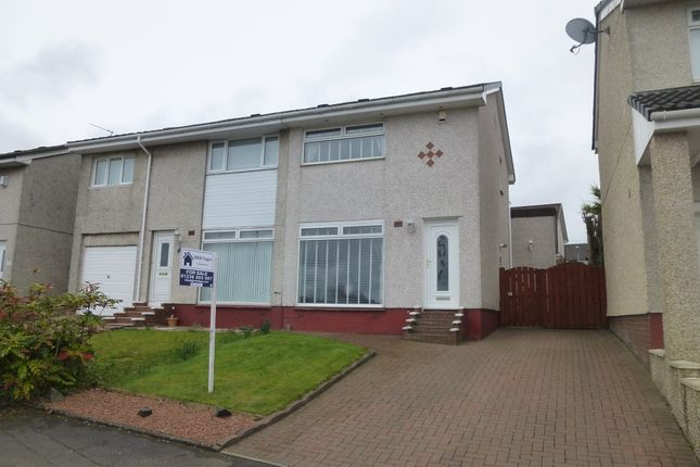 Thumbnail Semi-detached house for sale in Earlston Crescent, Coatbridge
