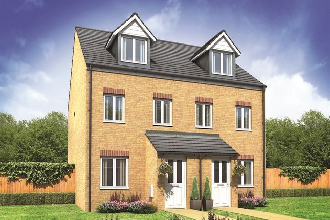 "Thumbnail Town house for sale in ""The Souter"" at Canal Way, Ellesmere"