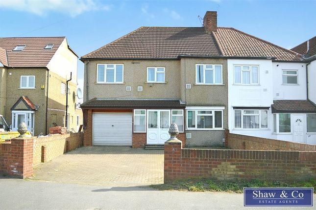 Thumbnail Semi-detached house to rent in Hatch Lane, Harmondsworth, West Drayton, Middlesex