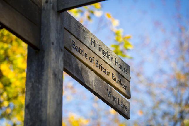 Signpost of Plot 14, The Dice, St Andrew's Park, Uxbridge UB10