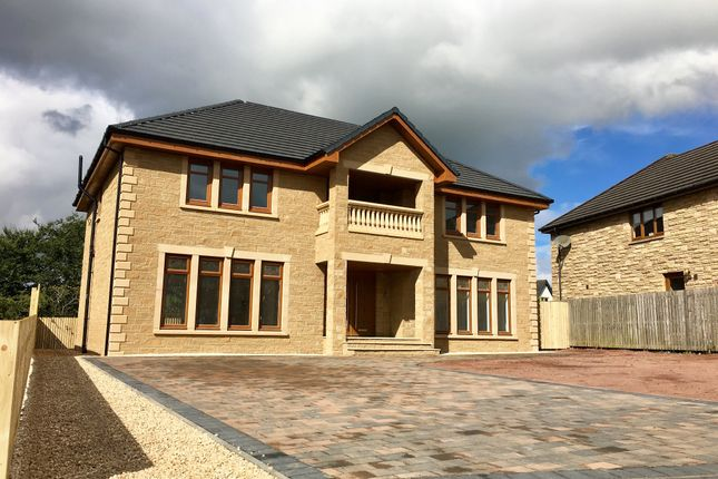 Thumbnail Detached house for sale in Captains Walk, Bellside, Motherwell