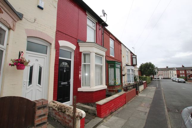 Thumbnail Terraced house to rent in Longfield Road, Liverpool