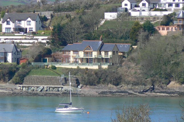 Thumbnail Detached house for sale in The Dolphins, Barnlake Point, Burton Ferry, Milford Haven
