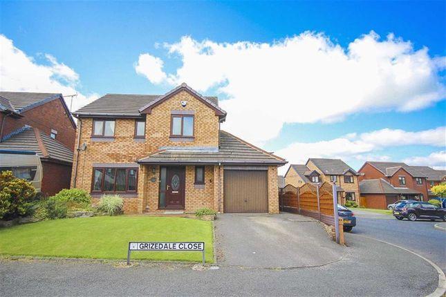 Thumbnail Detached house for sale in Grizedale Close, Clayton Le Moors, Lancashire