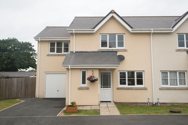 Thumbnail Semi-detached house for sale in Llanbadarn Fawr, Aberystwyth