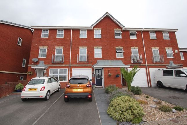 Thumbnail Terraced house for sale in Rhodfa Sweldon, The Waterfront, Barry