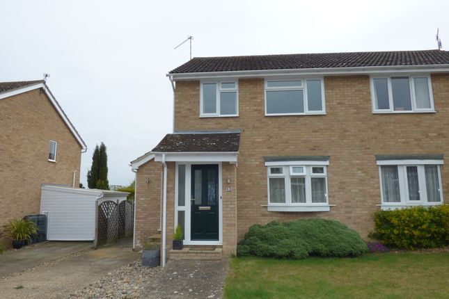 Thumbnail Semi-detached house for sale in Scarlin Road, Bury St. Edmunds