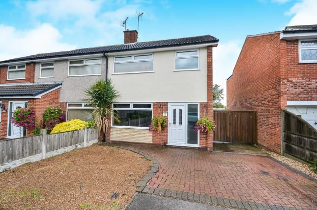 Thumbnail Semi-detached house for sale in Hatfield Close, Rainworth, Nottinghamshire