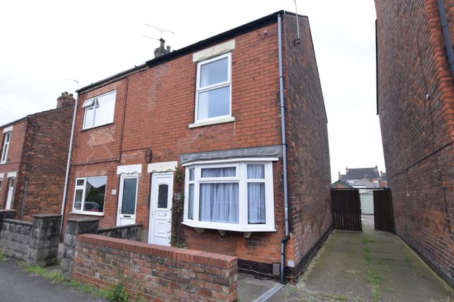 Semi-detached house for sale in Alexandra Road, Scunthorpe