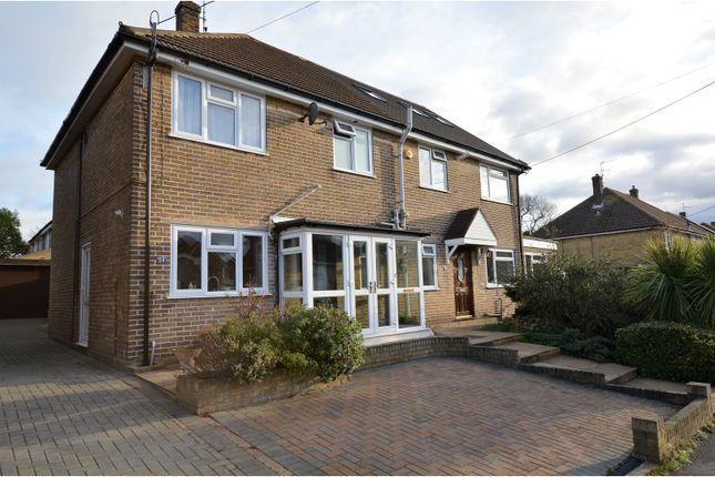 Thumbnail Semi-detached house for sale in Upland Road, Billericay