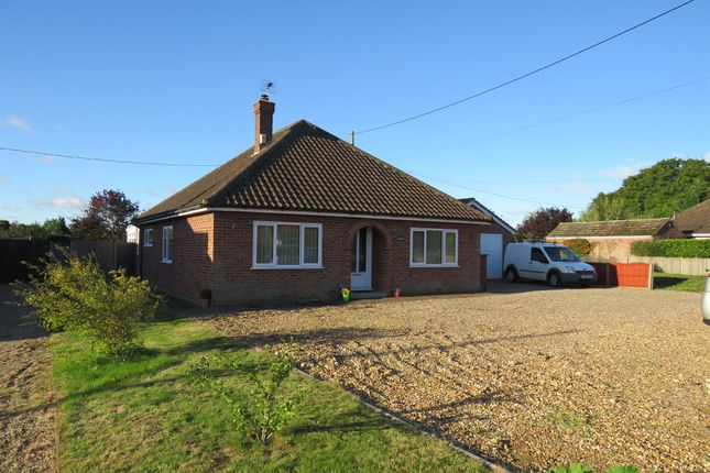 Thumbnail Detached bungalow for sale in High Road, Roydon, Diss