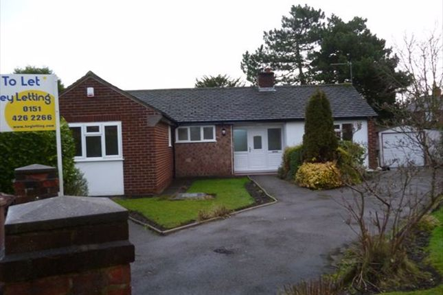 Thumbnail Bungalow to rent in The Meadows, Prescot, Merseyside