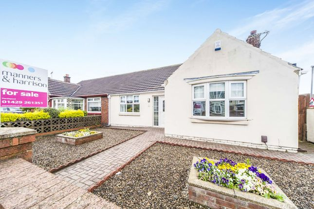 Thumbnail Semi-detached bungalow for sale in Lawson Road, Seaton Carew, Hartlepool