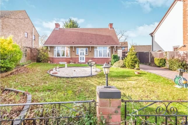 Thumbnail Bungalow for sale in Luton Road, Wilstead, Bedford, Bedfordshire