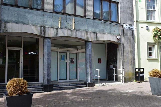 Thumbnail Retail premises to let in Nott Square, Carmarthen