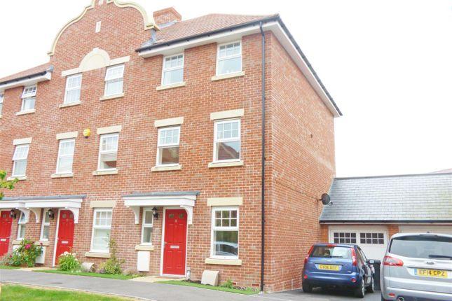 Thumbnail End terrace house for sale in Reid Crescent, Hellingly, Hailsham
